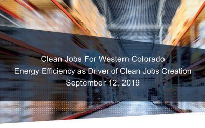Clean Jobs for Western Colorado
